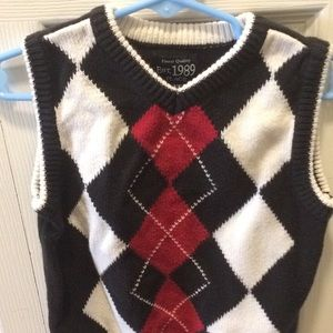 3 t boys sweater vest